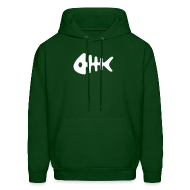 Hoodies ~ Men's Hoodie ~ Chase Fish Hooded Sweatshirt