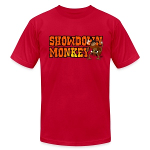 Showdown Monkey - Men's T - Men's Fine Jersey T-Shirt