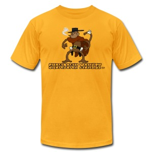 Showdown Monkey - Men's T - Men's T-Shirt by American Apparel