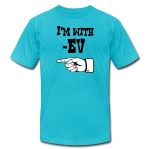 Minus EV - Mens T - Men's T-Shirt by American Apparel