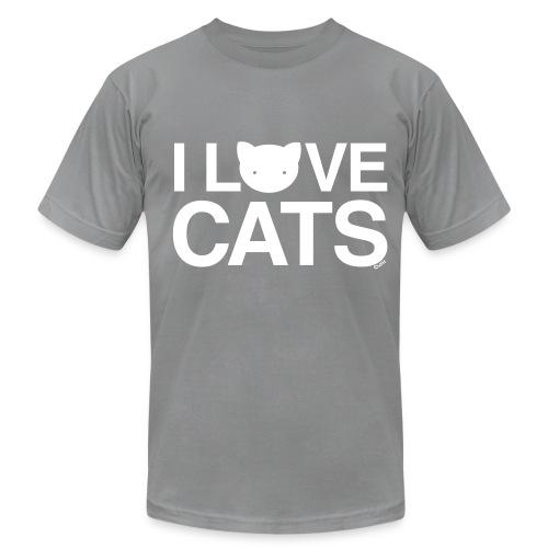 I Love Cats - Men's  Jersey T-Shirt