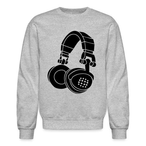 Headphone Crewneck - Crewneck Sweatshirt