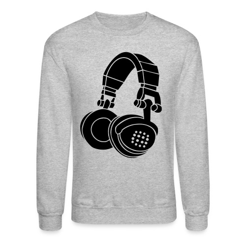 Headphone Crewneck - Crewneck Sweatshirt
