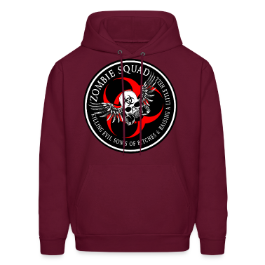 Zombie Squad 3 Ring Patch Revised Hoodies