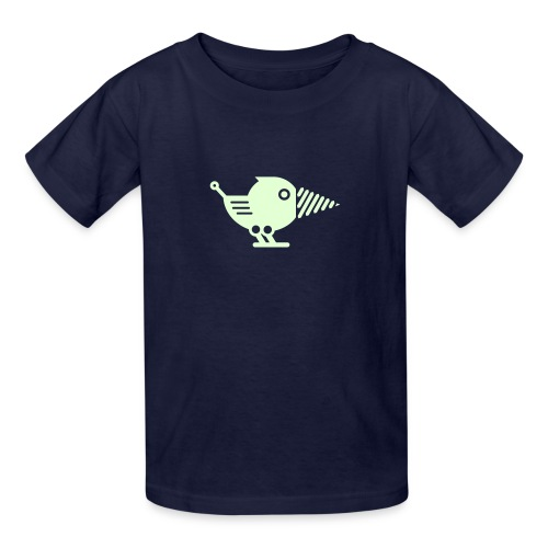 Glow Drillbot - Pick your shirt color! - Kids' T-Shirt