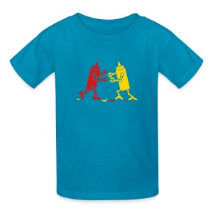 Orange Ketchup vs Mustard - Kids' T-Shirt
