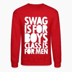 SWAG IS FOR BOYS Long Sleeve Shirts