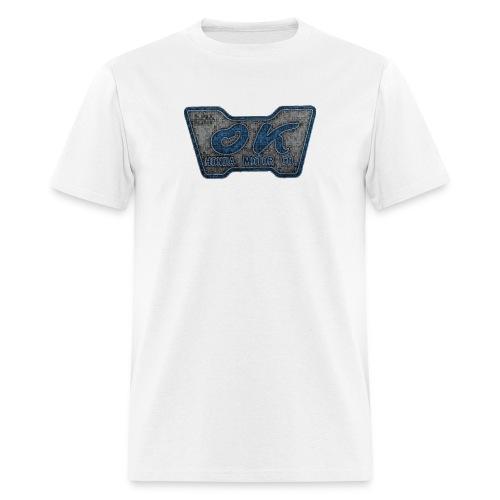 H. OK Retro w/ Site Logo - Men's T-Shirt