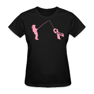 Women's T-Shirts ~ Women's T-Shirt ~ Catchin' a Cure