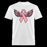 T-Shirts ~ Men's T-Shirt ~ Winged Ribbon