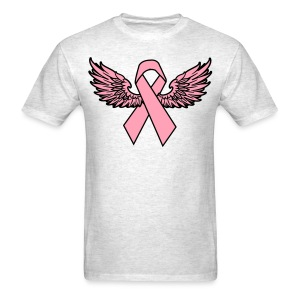 Winged Ribbon - Men's T-Shirt
