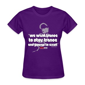 we-want-trance-tee-edmnyc - Women's T-Shirt