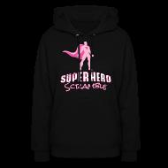 Hoodies ~ Women's Hoodie ~ Classic Logo - Pink