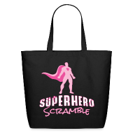 Bags & backpacks ~ Eco-Friendly Cotton Tote ~ Classic Logo - Pink