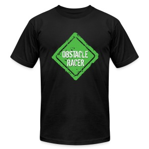 Obstacle Racer - Men's T-Shirt by American Apparel