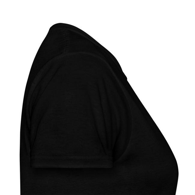 Womens Miami Baseketball Heart Shirt - Black