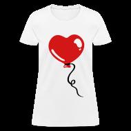 Women's T-Shirts ~ Women's T-Shirt ~ Heart Balloon