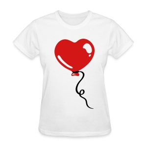 Heart Balloon - Women's T-Shirt