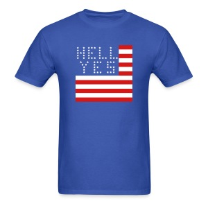 Hell Yes, America - Men's T-Shirt