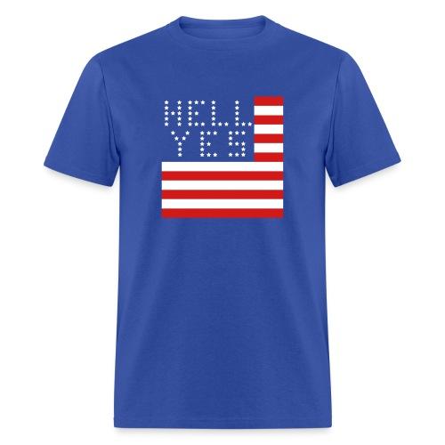 Hell Yes, America - Men's T-Shirt