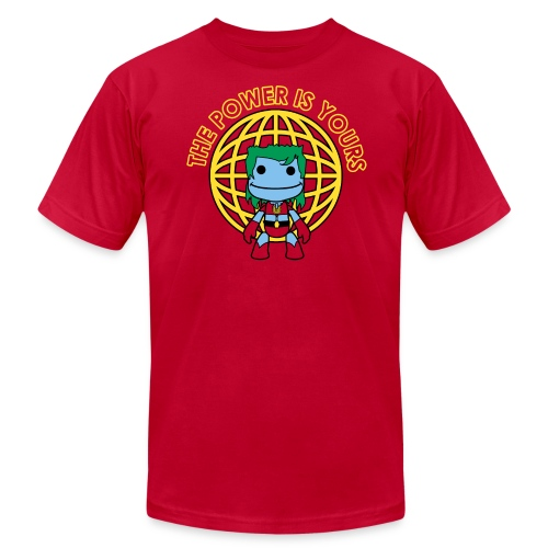 Little Captain Big Planet - Men's T-Shirt by American Apparel