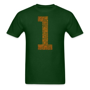 1MT1MT Word Art  - Men's T-Shirt