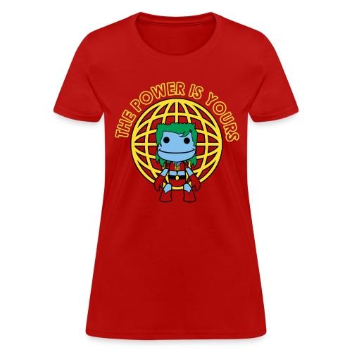 Little Captain Big Planet - Women's T-Shirt