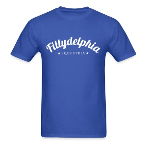Fillydelphia - Men's T-Shirt