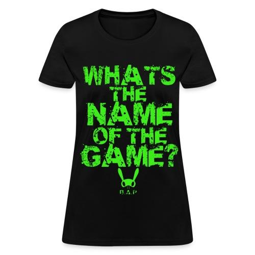 B.A.P WHATS THE NAME (JONGUP) - Women's T-Shirt