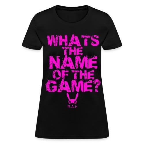 B.A.P WHATS THE NAME (HIMCHAN) - Women's T-Shirt