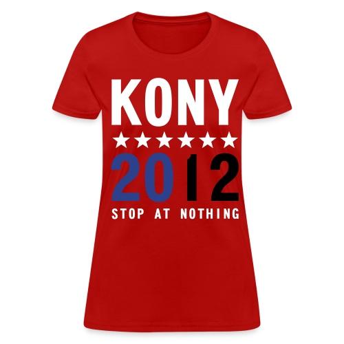 KONY 2012 Stop at Nothing t-shirt - Women's T-Shirt