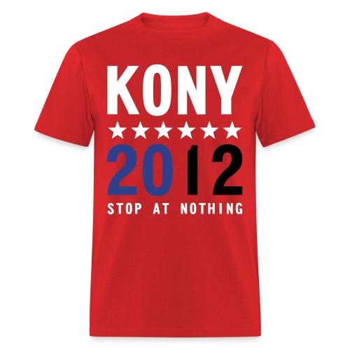 KONY 2012 Stop at Nothing T-Shirt - Men's T-Shirt