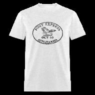 T-Shirts ~ Men's T-Shirt ~ Pony Express, distressed