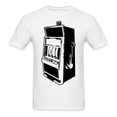 Slot Machine HD Design T-Shirts