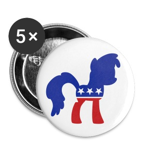 Politipony button (small) - Small Buttons