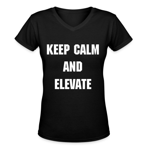 Keep Calm... - Women's V-Neck T-Shirt