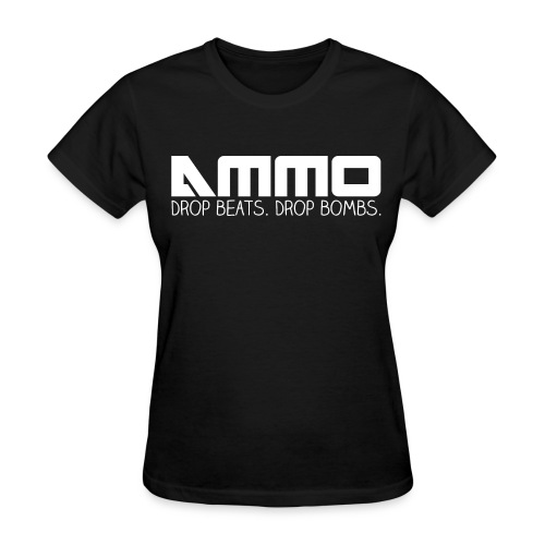 Drop Beats. Drop Bombs. - Women's T-Shirt