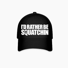I'd Rather Be Squatchin' (White) - Hat