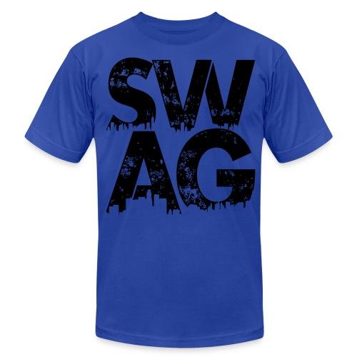 Black Swag T-Shirt - Men's Fine Jersey T-Shirt