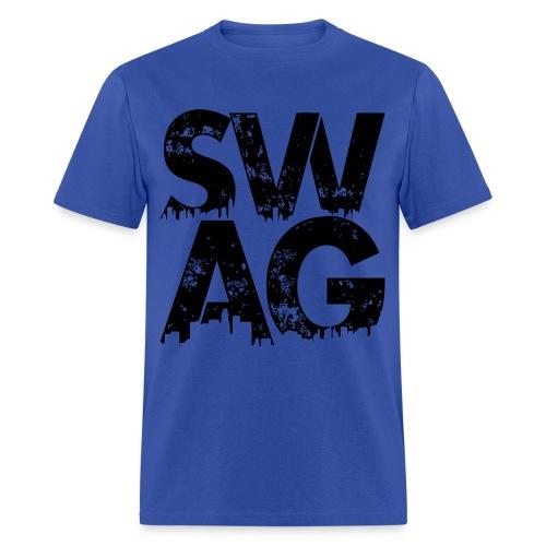Black Swag T-Shirt - Men's T-Shirt