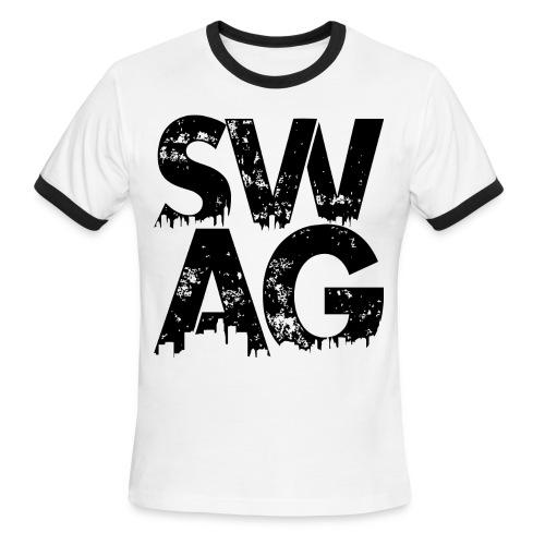 Black Swag T-Shirt - Men's Ringer T-Shirt