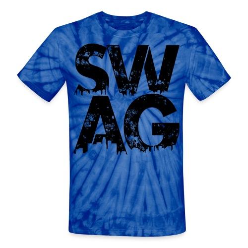 Black Swag T-Shirt - Unisex Tie Dye T-Shirt