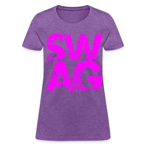 Pink Swag T-Shirt - Women's T-Shirt