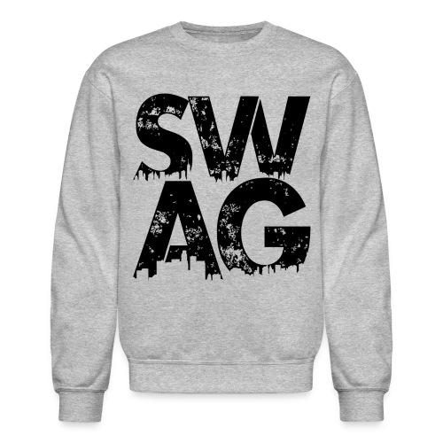Black Swag Long Sleeve T-Shirt - Crewneck Sweatshirt