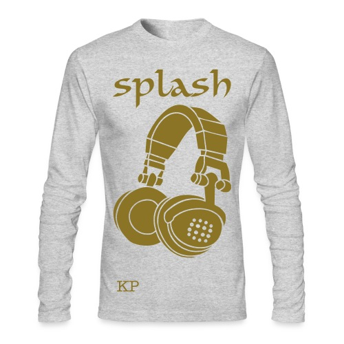 splash sleeve  - Men's Long Sleeve T-Shirt by Next Level