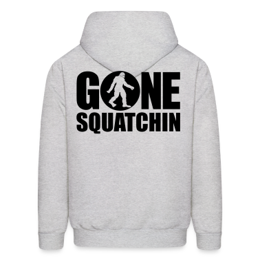 Gone Squatchin' Spotlight (Black) - Hoodie