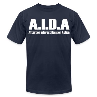The Art of Selling | AIDA T-Shirt