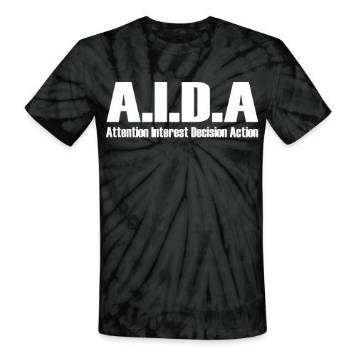 The Art of Selling | AIDA T-Shirt - Unisex Tie Dye T-Shirt