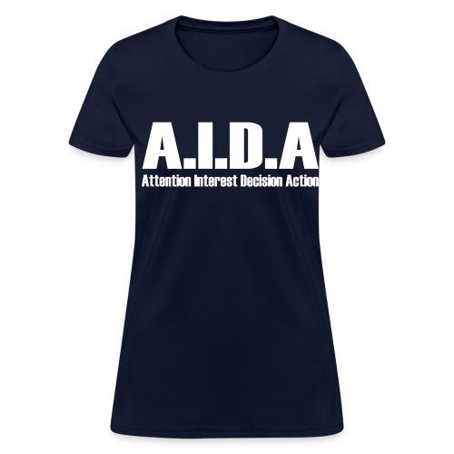 The Art of Selling | AIDA T-Shirt - Women's T-Shirt