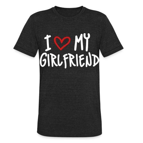Girl friend Tee - Unisex Tri-Blend T-Shirt